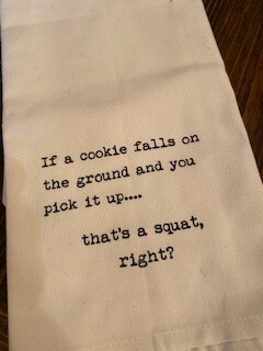 Cookie towel