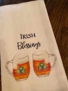 Irish Blessings towel