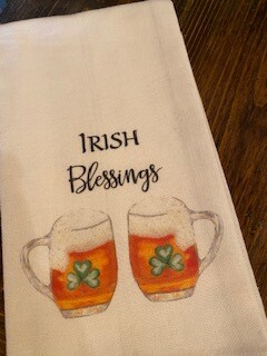 Irish Blessings towel