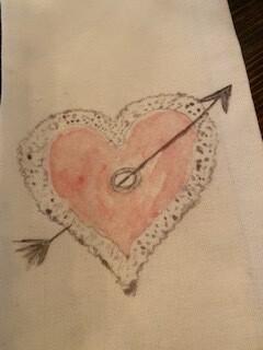 Stole my heart towel