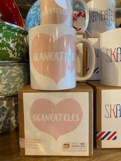Pink Skaneateles Mug with matching box-sold out