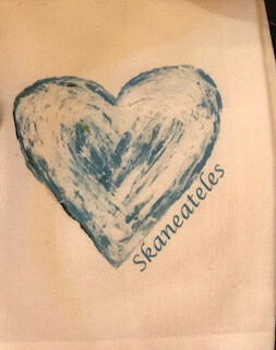 Love Skaneateles towel-sold out