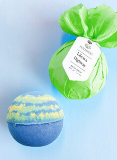 """""""Life is a highway"""" Bath bombs"""