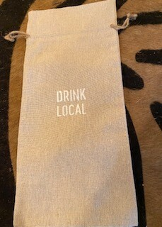Drink Local wine bag