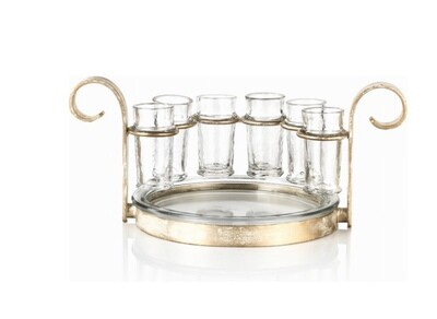 Tequila sets~gold finish