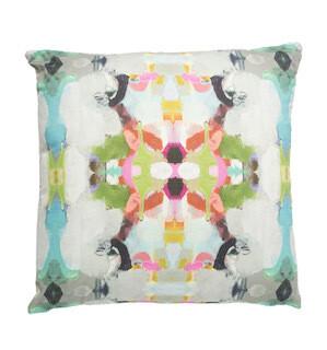 Summer Garden dream square pillow