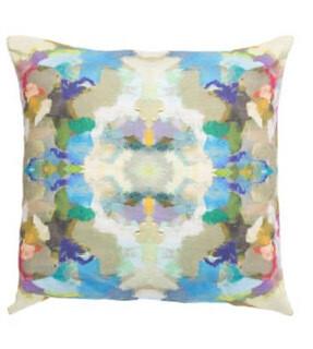 Indigo Blue square pillow