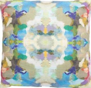 Outdoor Indigo pillow