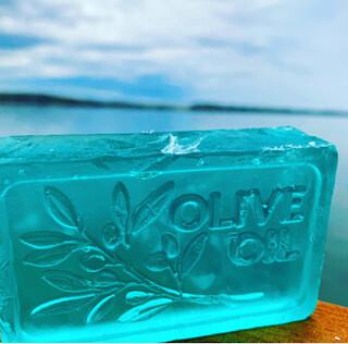 CBD infused olive oil soap
