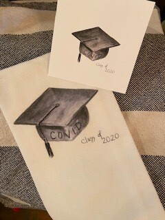 Covid class of 2020 towel-sold out