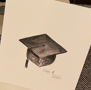 Covid class of 2020 card-sold out