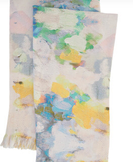 Butterfly Garden throw blanket