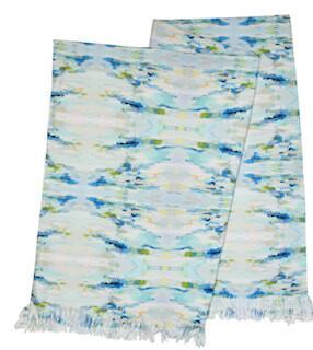Wintergreen Throw blanket