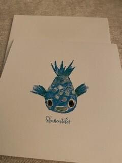 Skaneateles Puffer Fish card