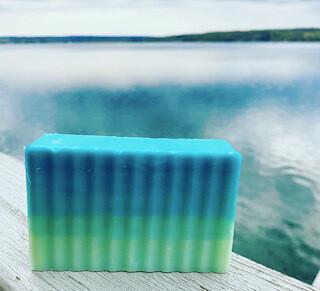 Cool Lake soaps