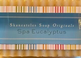 Spa Eucalyptus soap