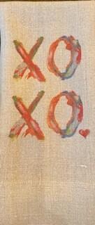 XOXO Guest towel