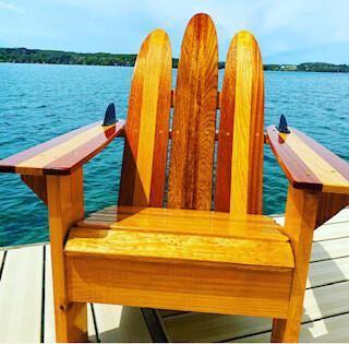 Plain Adult Waterski Chair