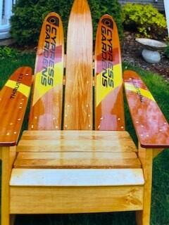 Cypress Gardens water ski chair