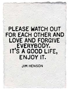 Jim Henson white paper print
