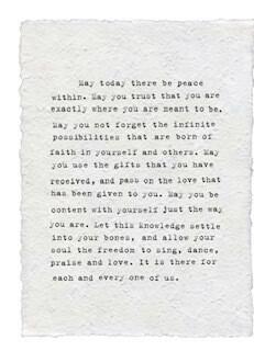 Maya Angelou white paper print