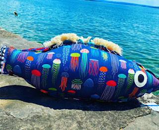 Jelly Fish pillow-SOLD OUT