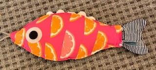 Orange slices little fish-sold out