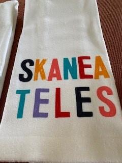 Happy Skaneateles Towel-low stock
