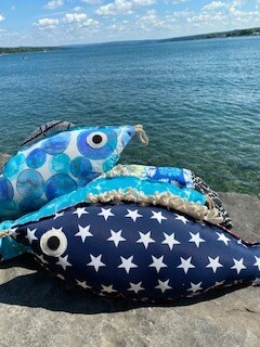 Star power fish pillow-SOLD OUT