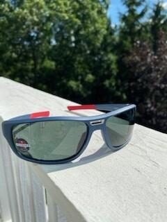 Matt Dark blue frame with red/grey polar-SOLD OUT