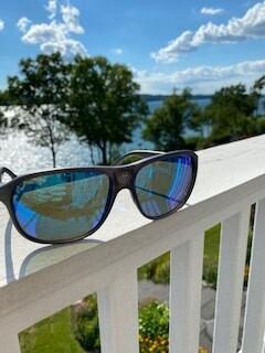 Dude's sunglasses!