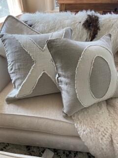 XO pillows-set of 2