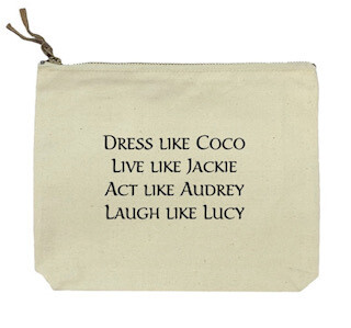 Dress like Coco canvas bag-SOLD OUT