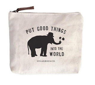 Put Good Things into the world Canvas Bag