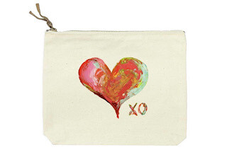 Heart xo bag