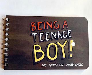 Being a Teenage boy wisdom book