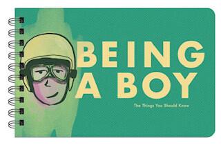 Being a boy wisdom book