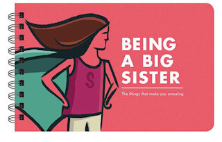 Being a big sister wisdom book