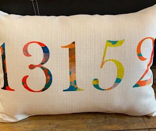 Tye dye 13152 pillow