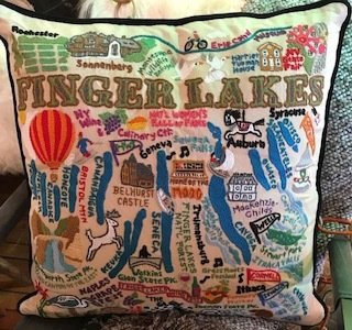 WM Finger Lakes pillow