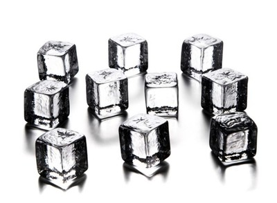 Simon Pearce ice cubes-pack of 10