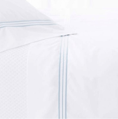 King Trio sky sheet set (bottom sheet, flat sheet, 2 king cases)