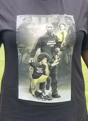 George Floyd & Colin Kaepernick T-Shirt