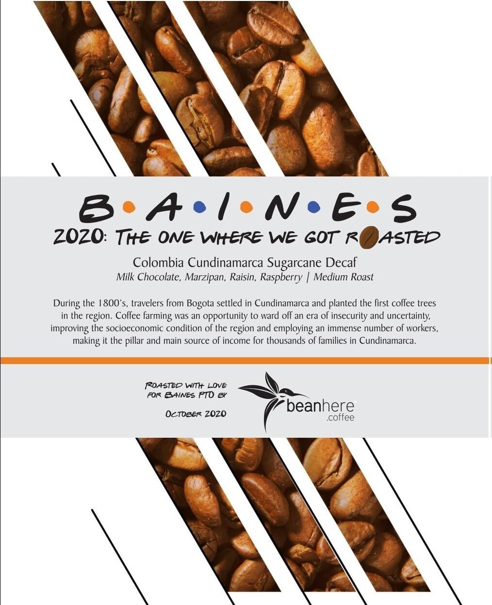 Baines Beans - Decaf