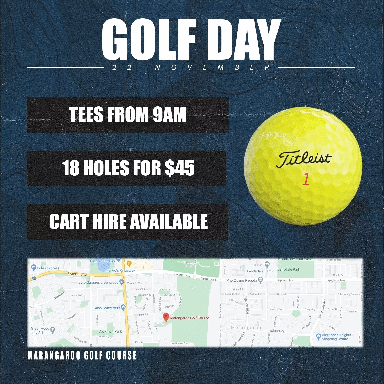 West Coast Wolverines Golf Day