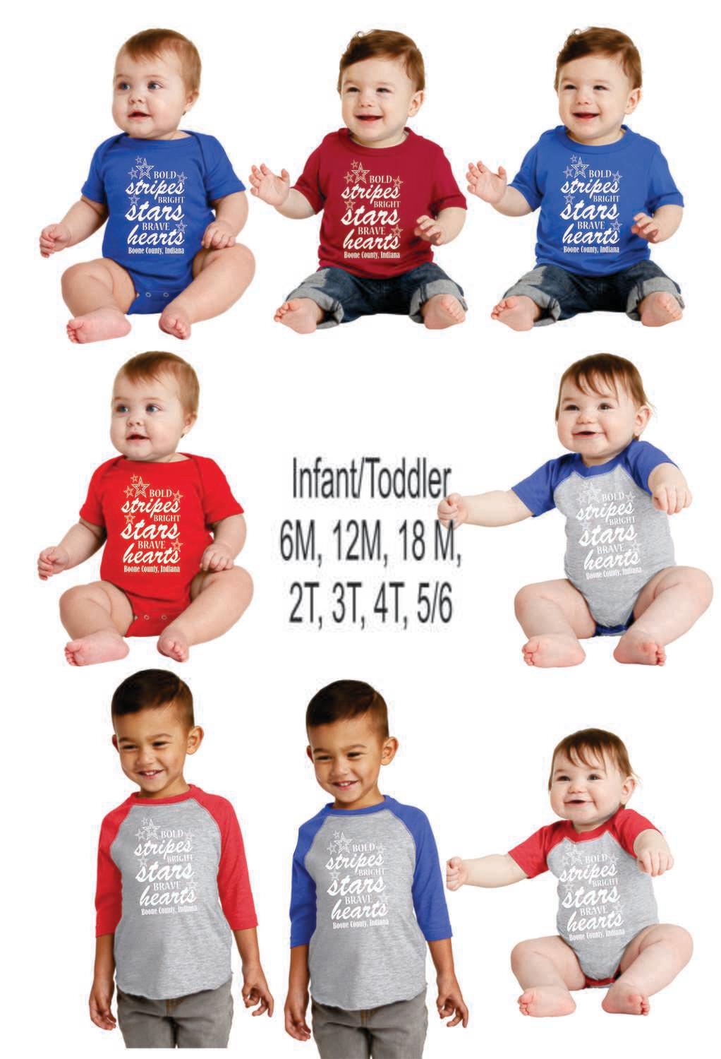 Infant/Toddler 4th of July - Boone County