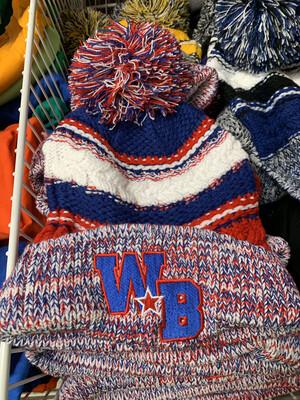 Webo Pom Pom Embroidered Hat
