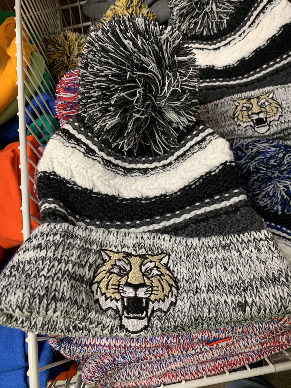 Lebanon Embroidered Pom Pom Hats