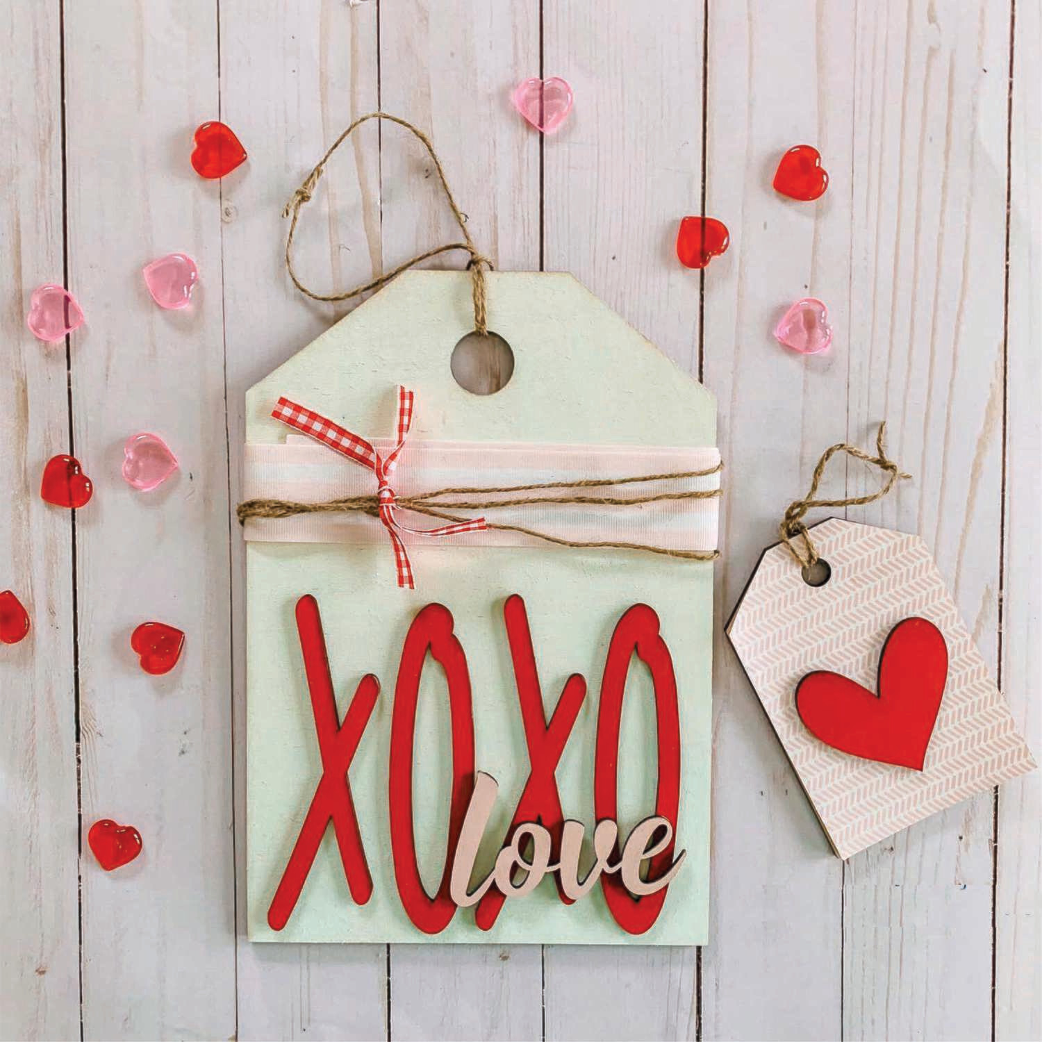 February Craft Night - XOXO Wooden Sign