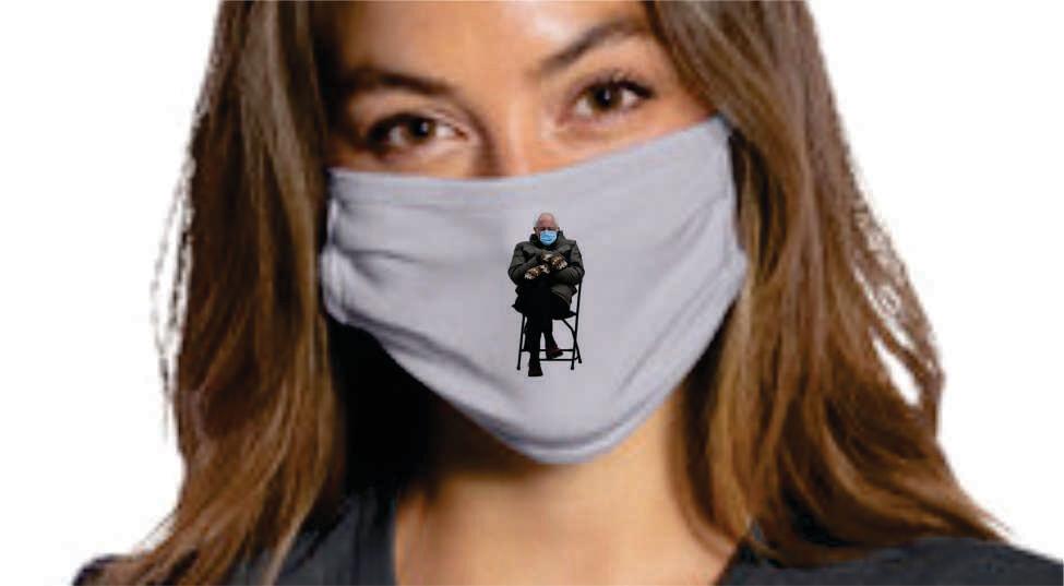 Bernie Mask - Fundraiser